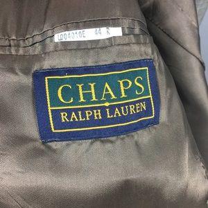 Chaps Suits & Blazers - CHAPS by Ralph Lauren tan two button suit size 44R